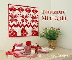 Free Project: Nordic Mini Quilt-Along from The Crafty Quilter