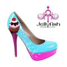 Studio Jellyfish | Sprinkles and cupcake shoes