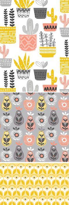 Fruit design illustration kitchens New Ideas Fabric Design, Print Design, Web Design, Design Ideas, Surface Pattern Design, Pattern Art, Pattern Design Drawing, Pattern Ideas, Pattern Designs