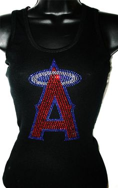 Los Angels Angels of Anaheim Bling Sparkle Jersey on Etsy, $34.99