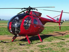 The MD Helicopters MD 500 series is an American family of light utility civilian and military helicopters. The MD 500 was developed from the Hughes 500, a civilian version of the US Army's OH-6A Cayuse/Loach. The series currently includes the MD 500E, MD 520N, and MD 530F.