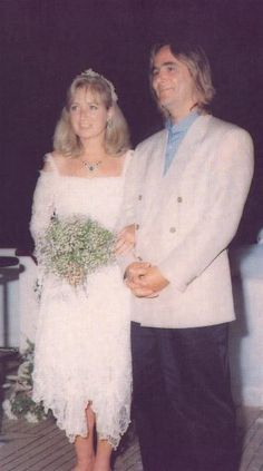 Mary Courtney Kennedy and Paul Michael Hill on their wedding day