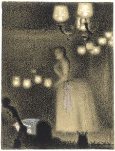 I saw George Seurat (1859-1891) exhibit in MoMA in 2008.
