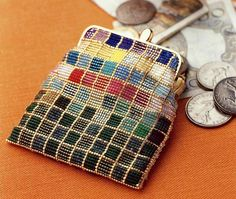 кошелек из бисера