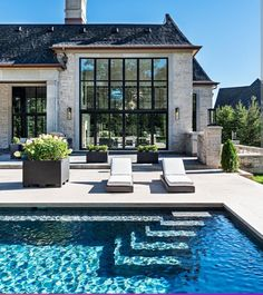 home exterior ideas / home exterior ; home exterior makeover ; home exterior colors ; home exterior ideas ; home exterior design ; home exterior colors schemes ; home exterior farmhouse ; home exterior makeover before and after Style At Home, French Style Homes, Style Français, Texas Style Homes, Nantucket Style Homes, Modern Style Homes, Small Cottage House Plans, Small Cottage Homes, Rectangular Pool