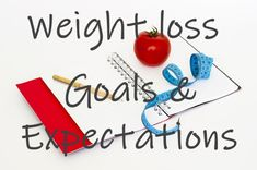 Weight Loss Goals an