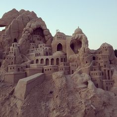 Incredible Sand Sculptures by Lucinda Wierenga