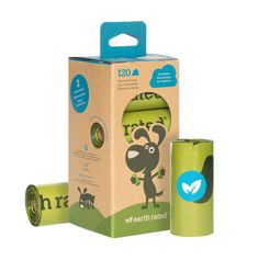 Dog Hiking Gear - Check out our latest for Furry Friend Friday! The Earth Rated Dog Poop Bags use recycled materials in their packaging and roll cores! It has 120 awesome bags on 8 refill rolls of 15 bags! Packaging, Lavender Scent, Bag Making, Dog Training, Biodegradable Products, Pet Supplies, Your Dog, Strong, Earth