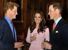 Prince Harry, Prince William & the Duchess