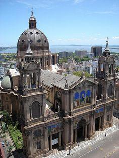 Porto Alegre, Brazil catedral metropolitana