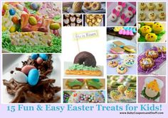 15 Fun and Easy Easter Treats for Kids!