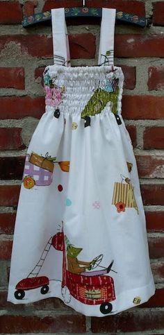 stap-voor-stap aan de slag en je hebt een heerlijk ☼ lente en zomer jurkje dit jurkje heeft een ander 'patroon' dan dit jurkje wat ik eer...