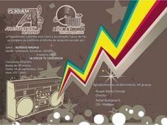Recibida E-QSL de la emisora Colombiana La Voz de la Conciencia