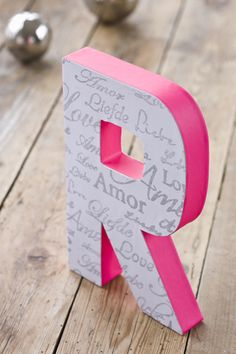 Letras decoradas. Altered letters