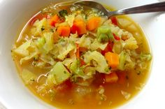 Cleanse and Revive Veggie Soup