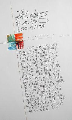 Calligraphy | rhythm