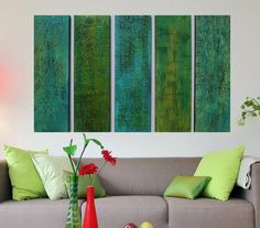 Hey, I found this really awesome Etsy listing at https://www.etsy.com/listing/180642598/wood-wall-sculpture-green-abstract-art