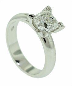 Diamond solitaire ring - Brisbane Jeweller - Diamond Jewellery  - MONTASH Jewellery Design - www.montash.com.au