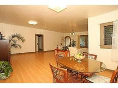 Kama'aina home with charming high ceilings to add character, even has fenced yard for pets! Ideal location just blocks from Waialae Ave., University of Hawaii, markets, freeway, restaurants, Waikiki Beach! Covered parking plus more parking.