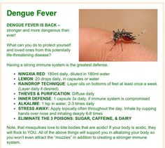 Young living - dengue fever