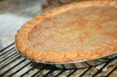 Traditions - Tarte Au Sucre Francaise (French Canadian Sugar Pie) - be sure to use pure vanilla Canadian Cuisine, Canadian Food, Canadian Recipes, Pie Recipes, Dessert Recipes, Cooking Recipes, Pastry Recipes, Dessert Ideas, Yummy Recipes