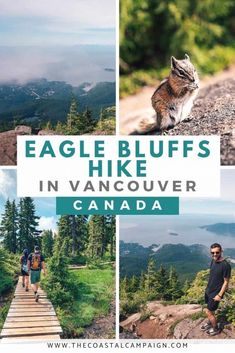 EAGLE BLUFFS TRAIL | Cypress Mountain | The Eagle Bluffs trail is one of the most popular hikes in Vancouver, offering stunning views of Howe Sound and downtown Vancouver!