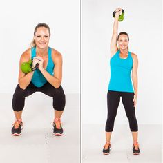 Killer Kettlebell Workout [Drop the dumbbells and define your whole body with this circuit]