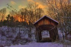 Old Covered Bridges In Ohio