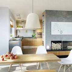 Salas de jantar modernas por Pracownia Projektowa ARCHIPELAG