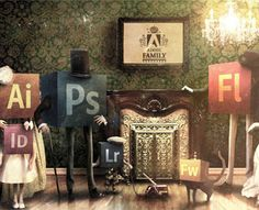 Adobe Family. 1882 by ladfree (via Creattica)