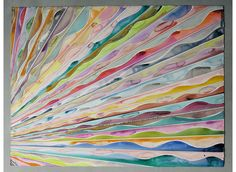 WATERCOLORs, 2008 | Markus Linnenbrink - I love the movement I feel from this piece.