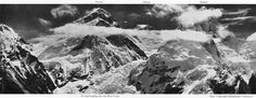 early photographs | The northern cliffs of Mt. Everest from the Rongbuk glacier, 1924 5