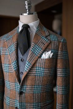 B&TAILOR exclusive tweed jacket