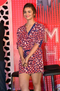 Alia Bhatt at the launch of MTV coke studio.