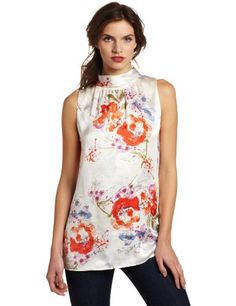 Pendleton Women's Tiffany Blouse, Floral Splash Print, 4 Pendleton, http://www.amazon.com/dp/B007BKLQ2I/ref=cm_sw_r_pi_dp_OmrTpb0J3RVCH