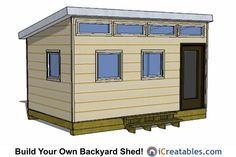 13 Best 10x16 Shed Plans Images Backyard Sheds Lean To Shed Plans