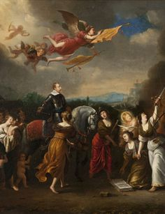 Apotheosis of King Gustavus II Adolphus, around 1650 © Nationalmuseum Stockholm, Sweden.    BERLIN.- For the first time an exhibition will...