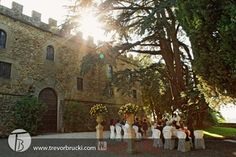 Wedding photography at Castello il Palagio just outside of Florence, Italy.
