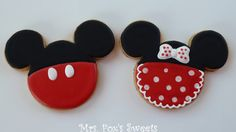 Micke & Minnie Mouse cookies