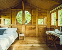 Belea Treehouse. A lovely treehouse suite at Basoa Treehouse Resort in a beautiful Amati oak forest. Located in the heart of Ultzama Valley in Spain, the treehouse is an ultimate delight for nature lovers. [[MORE]]