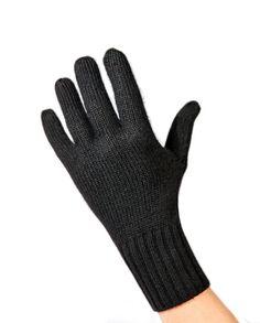 Kaschmir Handschuhe schwarz Gloves, Fashion, Cashmere, Get Tan, Dark Brown, Black, Moda, Fashion Styles, Fasion