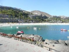 Playa Anfi, Gran Canaria, España