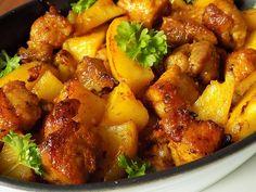 Bucky, Gnocchi, Pork, Food And Drink, Ethnic Recipes, Sweet, Kale Stir Fry, Candy, Pork Chops
