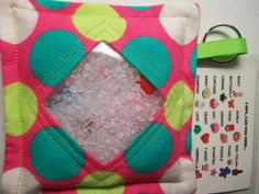 I Spy Bag Large Polka Dots Girls themed contents seek by JanetR
