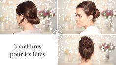 3 coiffures pour les fêtes - Blog Secrets des coquettes