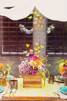 California Hippie Chic Wedding Ideas | RuffledRuffled