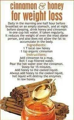 Cinnamon & Honey, for Weight Loss