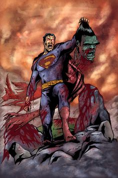 """#Hulk #Fan #Art. (Superman_vs_Hulk) By: Rob Granito. (THERE CAN BE ONLY """"ONE!!"""") [THANK U 4 PINNING!!]"""