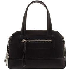 Black Petite tote (185675 PYG) ❤ liked on Polyvore featuring bags, handbags, tote bags, handbags tote bags, handbags totes, tote hand bags, parfois and tote handbags