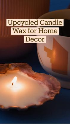 Fun Arts And Crafts, Fun Diy Crafts, Adult Crafts, Creative Crafts, Homemade Candles, Diy Candles, Diy Projects To Try, Cool Diy, Candle Making
